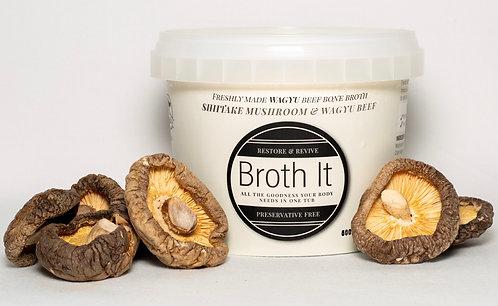 Broth It - Shitake Mushroom & Wagyu Beef bone broth - 500ml