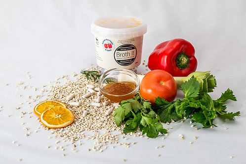 Broth It - Roasted Red Pepper & Tomato Wagyu beef bone broth - 500ml