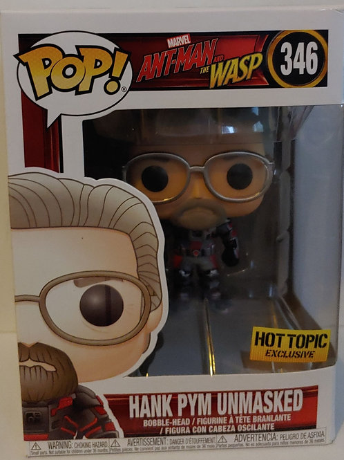 Hank Pym Unmasked Exclusive Pop