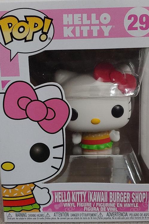 Hello Kitty Kawaii Burger Shop
