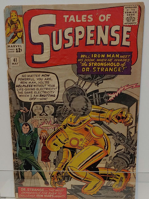 Tales of Suspense #41 - 3rd appearance of Iron Man