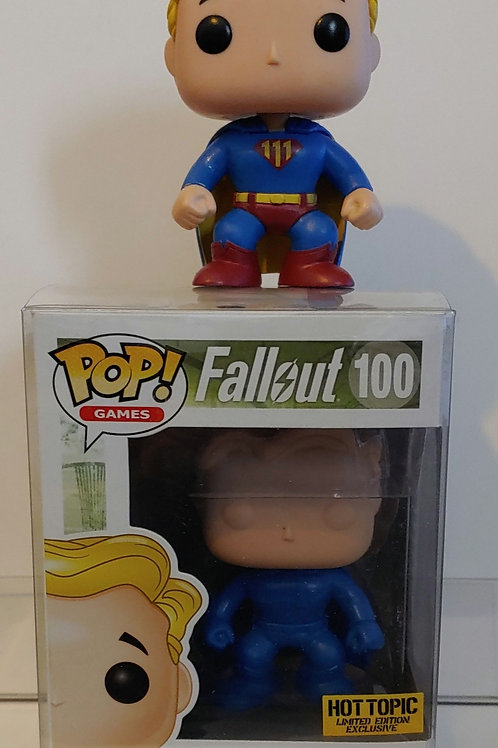 Funko Fallout Toughness prototype with regular figure