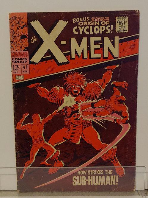X-Men #41 Good-Very Good