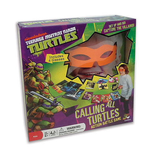 TMNT Calling All Turtles Action Battle Game
