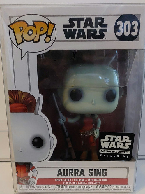 Star Wars Aurra Sing exclusive pop