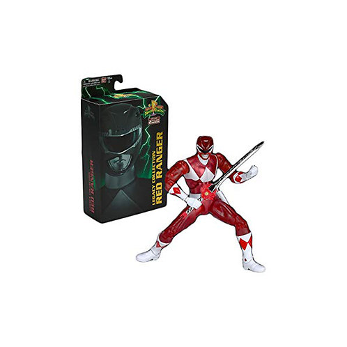 Power Rangers Legacy Collection Red Ranger