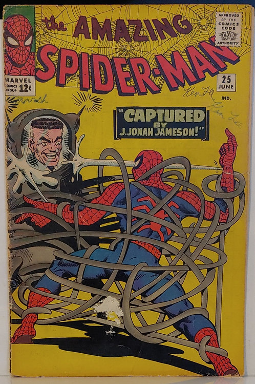Amazing Spider-man #25-- Key!