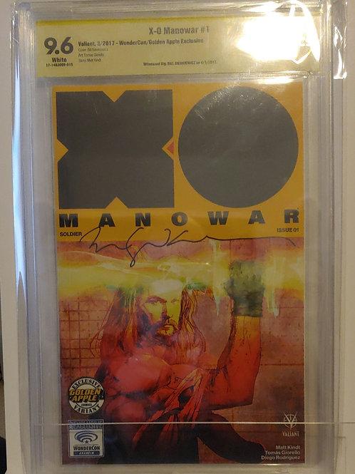 XO Man O War #1--autographed Wondercon exclusive