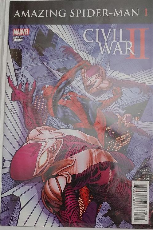 Amazing Spider-man- Civil War II var.