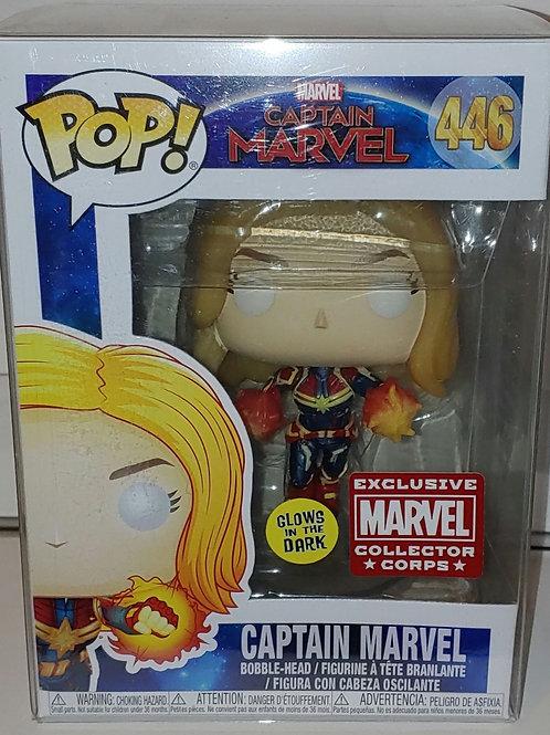 Funko GITD Captain Marvel exclusive