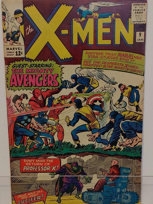 X-Men #9 (1965)-- Key Book!