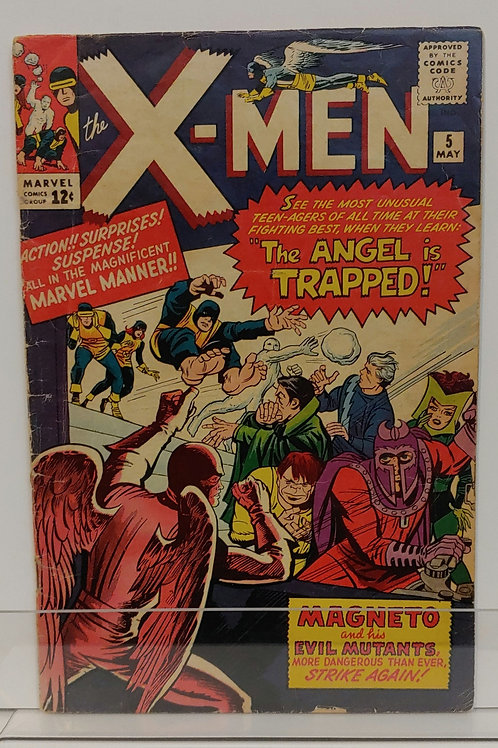 X-Men #5 - 3rd Magneto - 2nd Quicksilver and Scarlet Witch