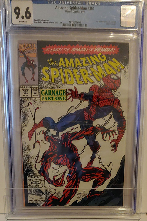 Amazing Spider-man #361--1st Carnage!
