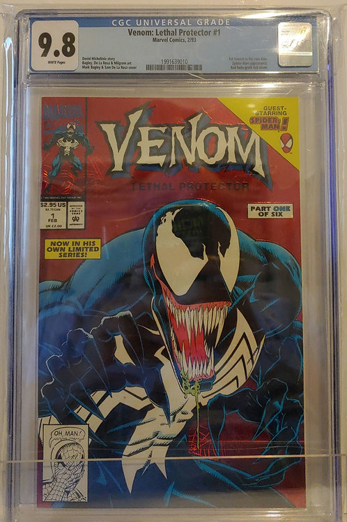 Venom Lethal Protector #1 - 1st Venom in own title