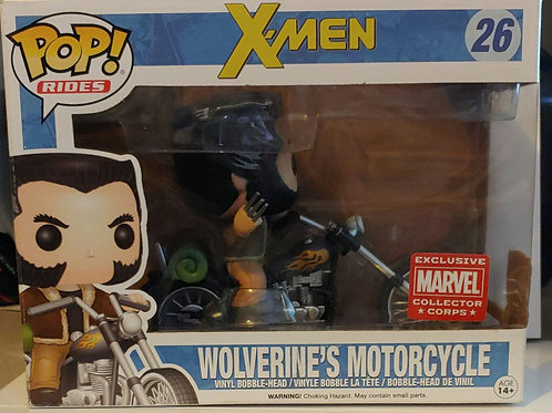Wolverine's Motorcycle exclusive