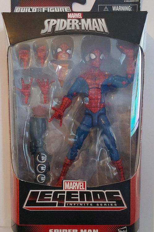 Marvel Legends Spider-man - ding in right top corner