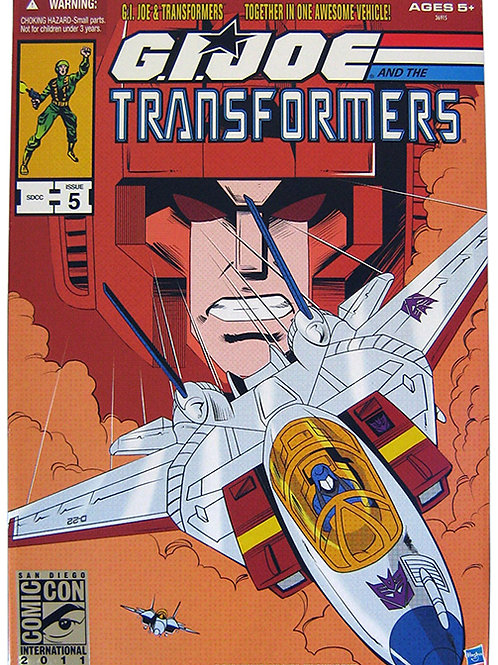 GI Joe Transformers SDCC Issue 5