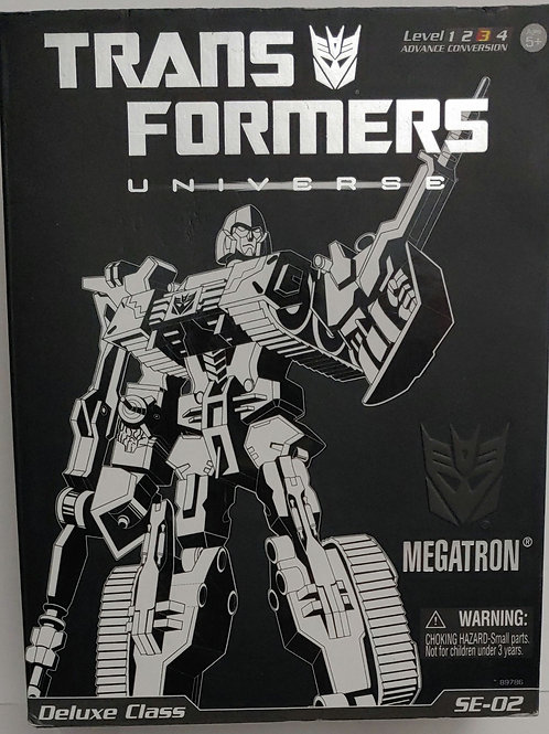 Transformers Megatron Deluxe Class SE-02 --opened box