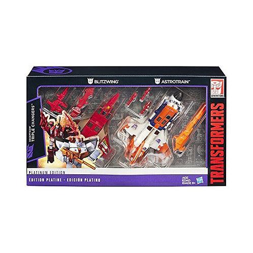 Transformers Decepticon Triple Changers Platinum Edition