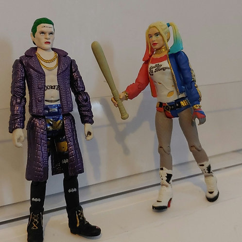 Funko Joker and Harley Quinn Suicide Squad Exclusive