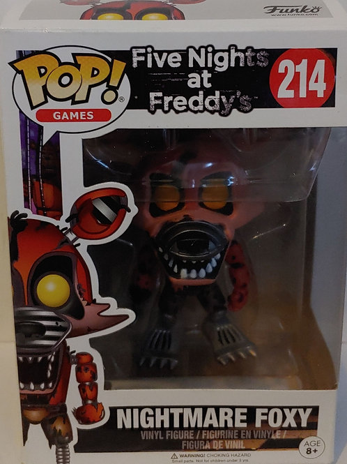 Nightmare Foxy--damaged box