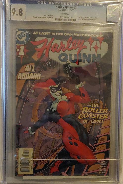 Harley Quinn #1--1st regular series