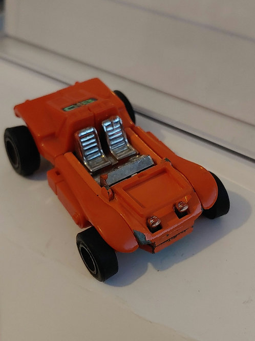Gobots Buggy Man-- has wear from play