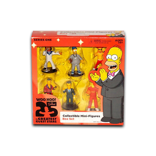 The Simpsons Collectible Mini-Figures Box Set