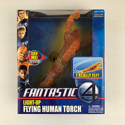 Fantastic Four Light-Up Flying Human Torch