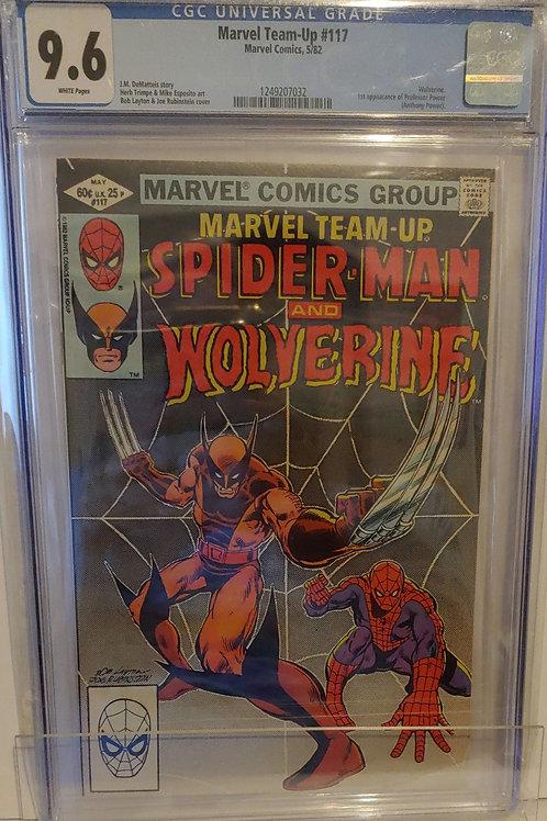 Marvel Team-Up #117 - Wolverine