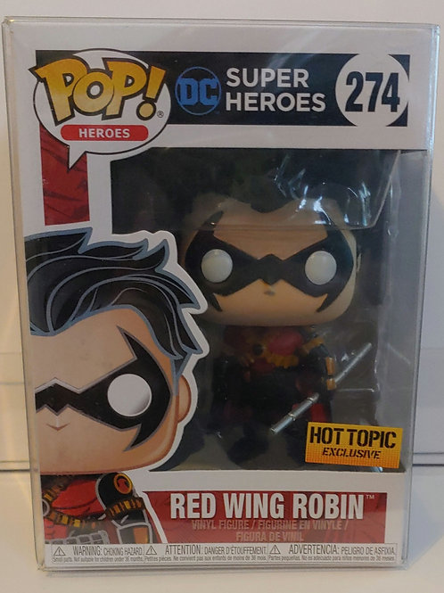 Hot Topic exclusive Red Win Robin pop