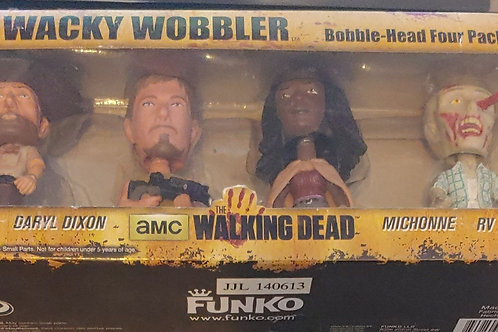 The Walking Dead mini-bobble 4 pack