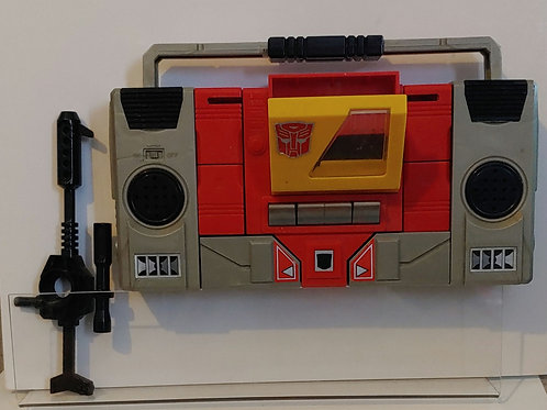 Transformers G1 Blaster - complete-- see description