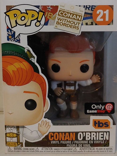 Conan O'Brien Bavarian exclusive