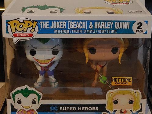 Beach Joker and Harley exclusive