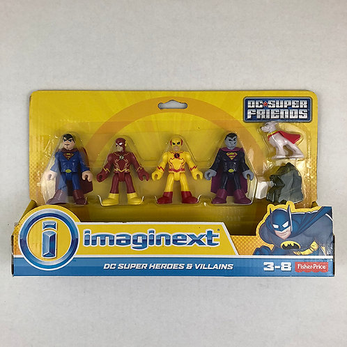 Imaginext DC Super Heroes and Villains