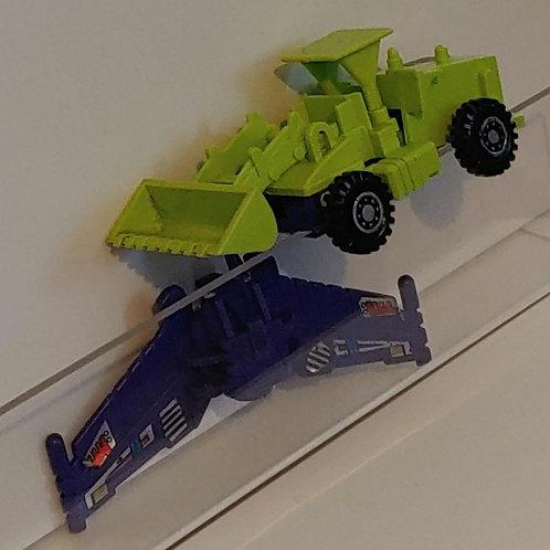 Transformers G1 Scrapper-- incomplete
