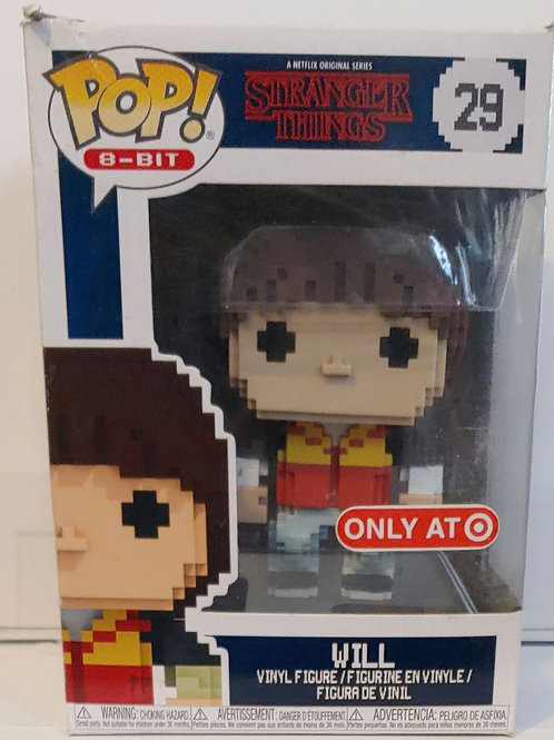 Stranger Things pixelated Will Target exclusive