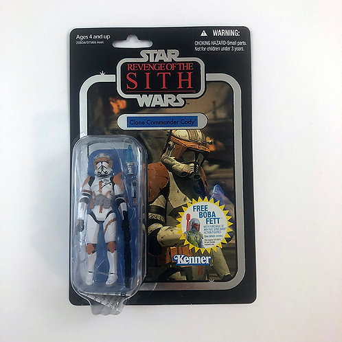 Star Wars Revenge of the Sith Clone Commander Cody