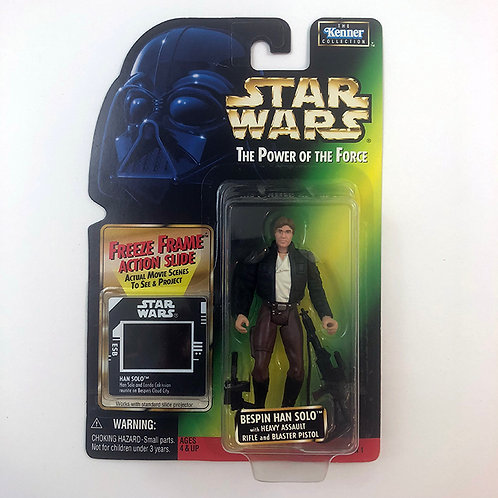 Star Wars The Power of the Force Bespin Han Solo