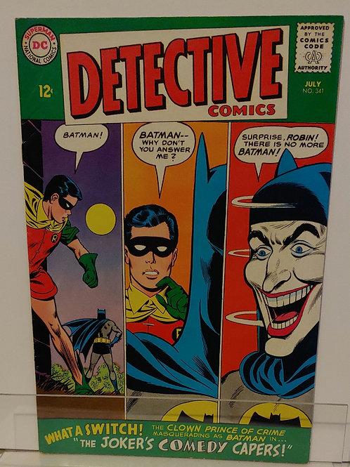 Detective Comics #341 (1965) - Great Joker cover