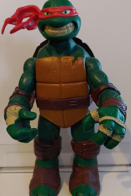 """Teenage Mutant Turtle 12"""" Rafael-- no weapons"""