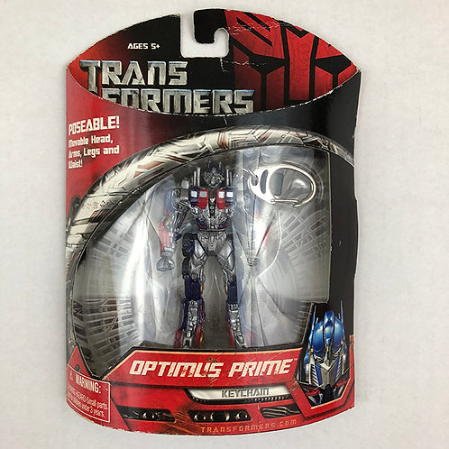Transformers Poseable Optimus Prime Keychain