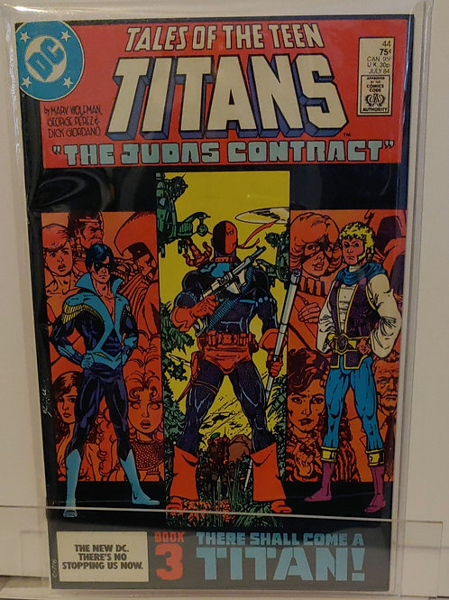 Tales of the Teen Titans #44 -  Key book!