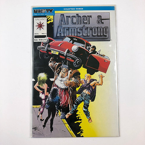 Archer & Armstrong Aug No. 1 Chapter Three