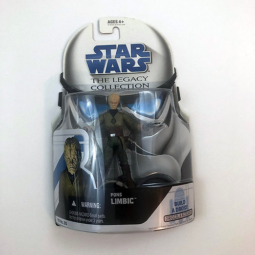 Star Wars The Legacy Collection Pons Limbic