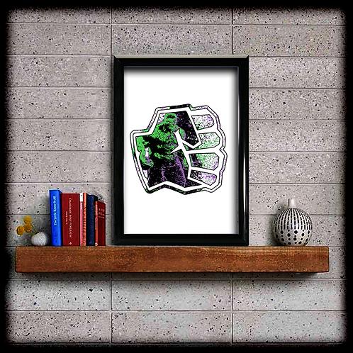 Hulk Logo - Digital Download