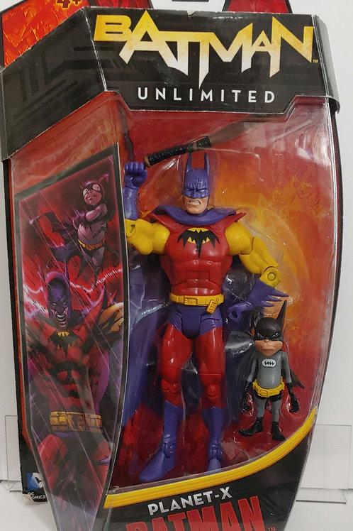 Batman Unlimited Planet-X Batman