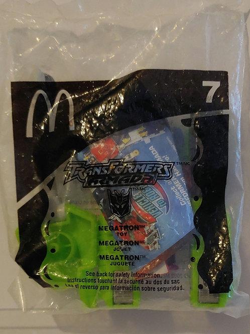 Transformers Armada McDonald's Megatron - sealed bag