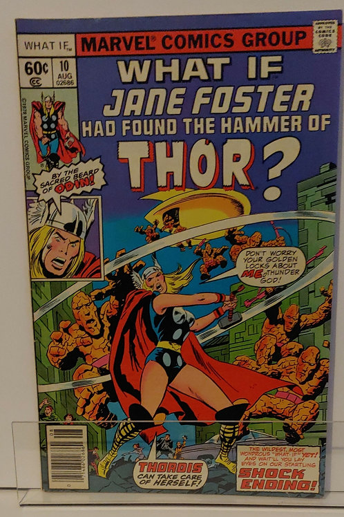What If? Vol. 1, #10-- Jane Foster became Thor